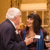 President Emeritus Don Lubbers talking with President-elect Philomena Mantella at Naples 2019